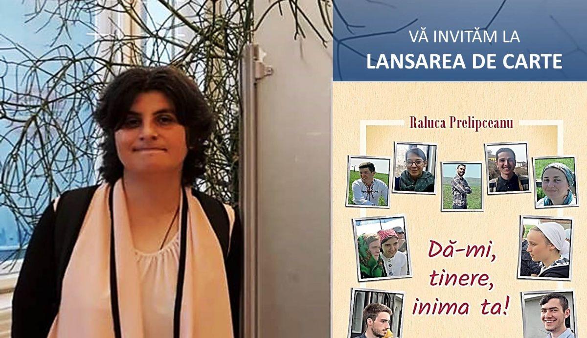 Eu, tu, noi și Dumnezeu – o întâlnire cu lansare de carte – Autor și iconar Raluca Prelipceanu