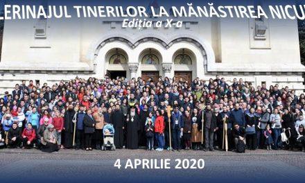 Pelerinajul tinerilor la Mănăstirea Nicula (2020)