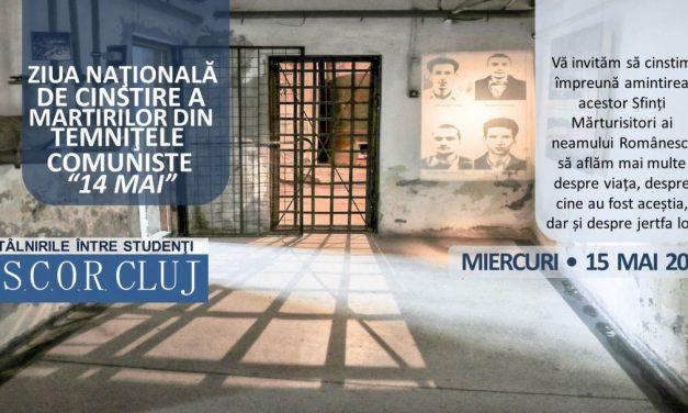 Întâlniri A.S.C.O.R. Cluj între studenţi cu prilejul Zilei  Naţionale a Martirilor din timpul prigoanei comuniste