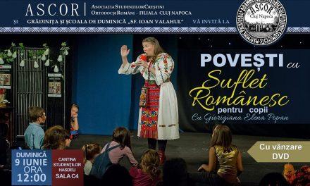 Povești cu suflet românesc – pentru copiii Bisericii studenților