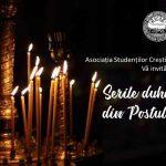 Serile duhovnicești din Postul Paștelui 2020 – ANULATE