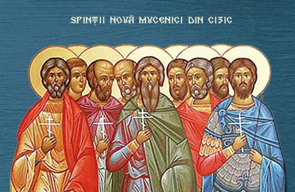 Acatistul Sfinților nouă Mucenici din Cizic