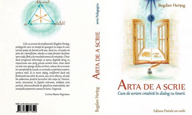Arta de a scrie – prima carte a editurii Bisericii Stundeților din Hașdeu