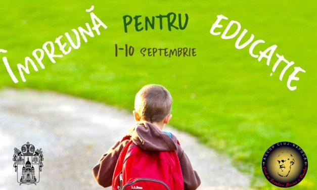 """Campania """"Împreună pentru educație"""""""